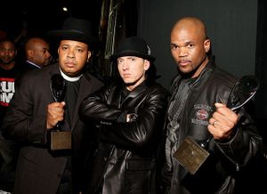 Rock On!: Rock And Roll HOF Inductees Run-DMC With Eminem