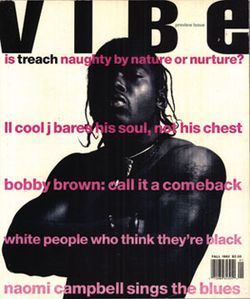 Vibe's First Cover Featuring Treach