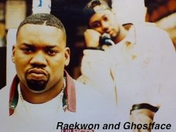 Rae and Ghost (Circa 1995)
