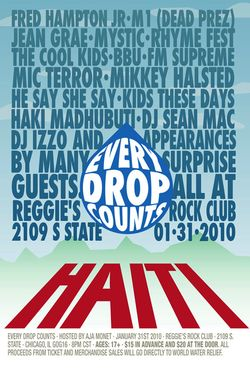 Every Drop: Haiti Poster
