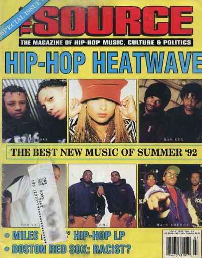 Source July 1992 Cover