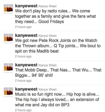How Tweet It Is: Kanye's Tweets