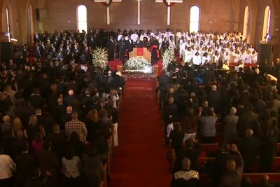 Whitney Houston's Home-Going Ceremony
