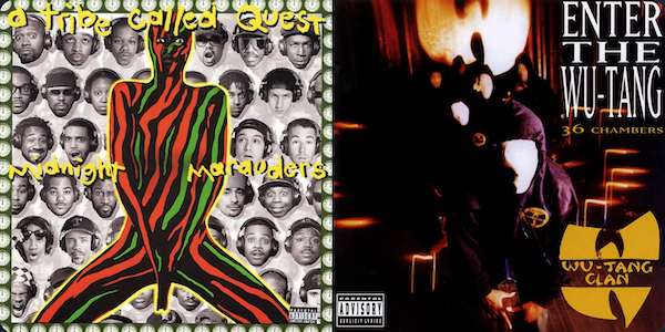 ATCQ Midnight Marauders Enter the Wu-Tang