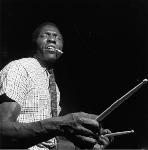 Legendary stick man ELVIN JONES